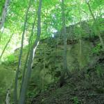 Baderitz, Burg Festenberg, Burgmauer