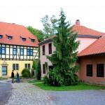 Creuzburg, Burghof