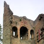 Lobdeburg Drackendorf, Wohnturm