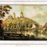 Ansicht der Ilburg von Süden, 1794