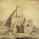 Teilansicht der Ilburg, 1739