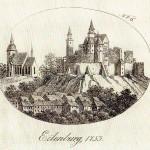 Ilburg und Marienkirche, 1753