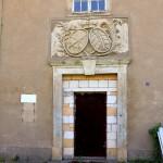 Eilenburg, Ilburg, ehem. Amtsgericht, Portal