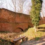 Eilenburg, Ilburg, rekonstruierte Wehrmauer