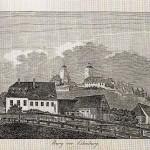 Ansicht der Ilburg, um 1832