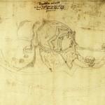 Ansicht der Ilburg aus der Vogelperspektive, vor 1516