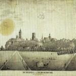 Ansicht der Ilburg, vor 1828