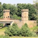 Festung Torgau, Brückenzinnentürme