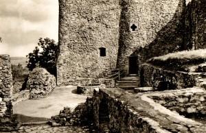 Burg Frauenstein, Postkarte 1950er Jahre