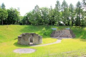 Wiprechtsburg Groitzsch, Rundkapelle und Wohnturm