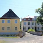 Rittergut Kahnsdorf, Brücke über den Graben der Wasserburg