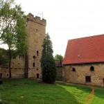 Wasserburg Kapellendorf, Wehrturm