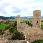 Brandenburg bei Lauchröden in Thüringen