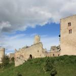 Brandenburg, westliche Burg mit Bergfried