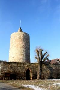 Osterfeld, Burg