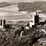 Rudeslburg und Burg Saaleck, Postkarte 1980er Jahre