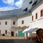 Burg Scharfenstein, Burghof
