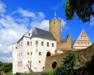 Burg Scharfenstein im Erzgebirge