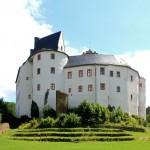 Burg Scharfenstein, Ansicht von Westen