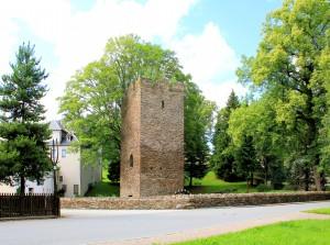 Tannenberg, Wassrburg (Passklausenturm)