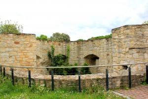 Rondell der Burg Weißenfels