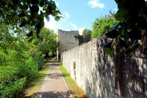 Zscheiplitz, Wehrmauer der Weißenburg