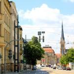 Carolastraße mit Blick zum Theaterplatz