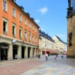 Blick vom Markt in die Innere Klosterstraße