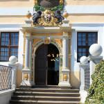 Portal des Schlosses Delitzsch