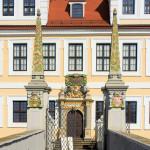 Zugang zum Schloss Delitzsch