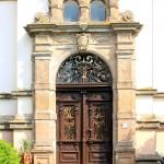 Döcklitz, Gutshof Hagengut, Portal Hofseite