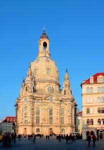 Фрауэнкирхе (Церковь Богородицы) в Дрездене