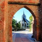 Eilenburg, Ev. Marienkirche (Bergkirche), Burgtor der Ilburg