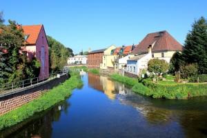 Am Mühlgraben in Eilenburg