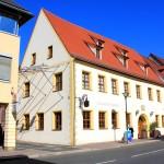 """Eilenburg, ehemaliges Gasthaus """"Roter Hirsch"""""""