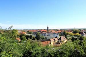 Eilenburg, Blick vom Burgberg