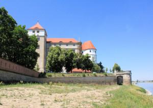 Festung Torgau, Festungsmauer am Schloss Hartenfels