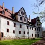 Glauchau, Schloss Forderglauchau, Schlosshof