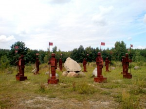 Goitzschewächter - ein Projekt der LandArt Goitzsche