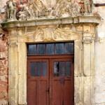 Schloss Gröbitz, Portal