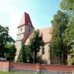 Die Kirche in Großlehna