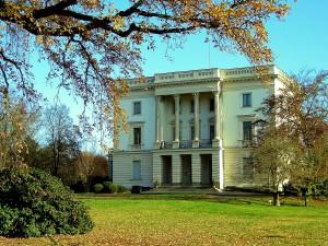 Das Weiße Haus im AGRA-Park Markkleeberg
