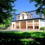Die Orangerie im Schlosspark Mölbis
