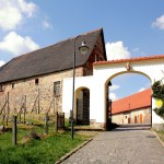 Zugang zum Schloss Taucha