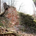 Burg Anhalt, Mauerwerk des Kammertors