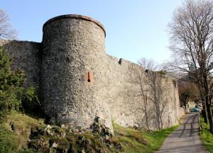 Burgmauer der Amöneburg