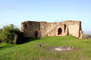 Ruine der Frauenburg bei Marburg