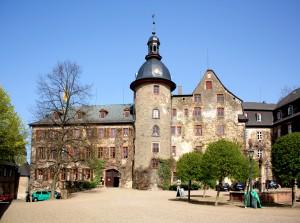 Schloss Laubach, Schlosshof