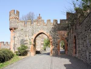 Burg Staufenberg, Burgtor