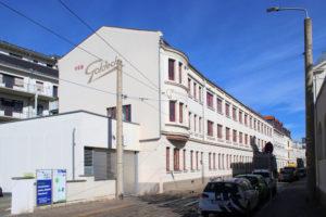 Ehem. Kontor- und Fabrikgebäude der Fa. Felsche Gohlis (Schokoladenkontor)